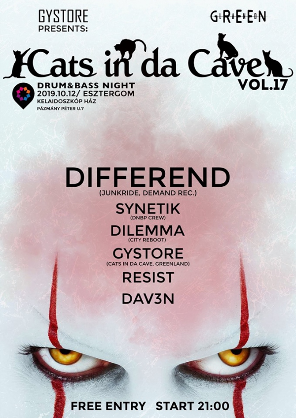 Cats in da Cave vol.17