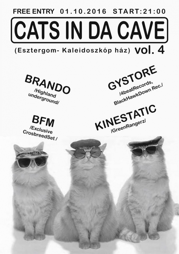 Cats in da Cave Vol.4